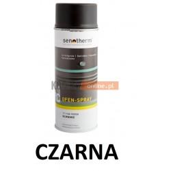 Farba w sprayu żaroodporna SENOTHERM CZARNA 400 ml