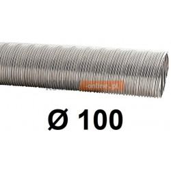 Rura elastyczna spiro kwasoodporna 100 mm