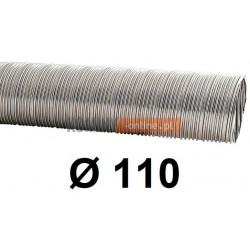 Rura elastyczna spiro kwasoodporna 110 mm