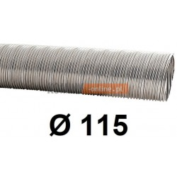 Rura elastyczna spiro kwasoodporna 115 mm