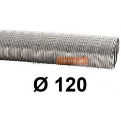 Rura elastyczna spiro kwasoodporna 120 mm