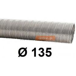 Rura elastyczna spiro kwasoodporna 135 mm