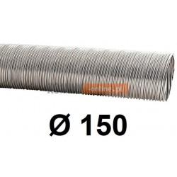 Rura elastyczna spiro kwasoodporna 150 mm