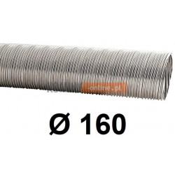 Rura elastyczna spiro kwasoodporna 160 mm