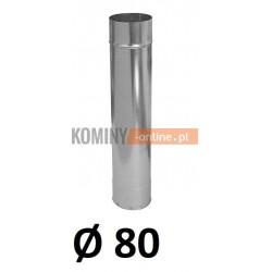 Rura ocynkowana 80 / 0,5 m