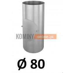 Rura z rewizją 80 mm / 0,33 [m] OCYNK