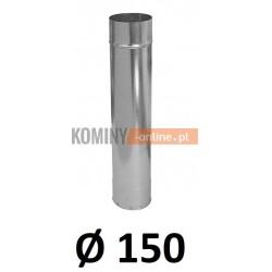 Rura 150 ocynkowana 1 [m]