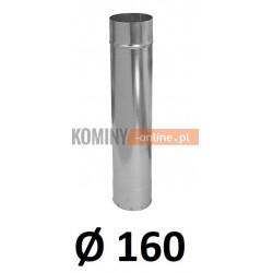 Rura 160 ocynkowana 1 [m]