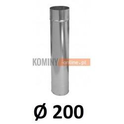 Rura 200 ocynkowana 1 [m]