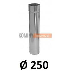 Rura 250 ocynkowana 1 [m]