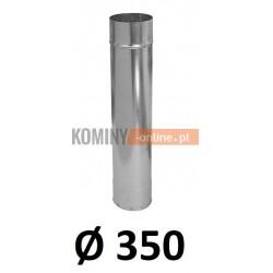 Rura 350 ocynkowana 1 [m]