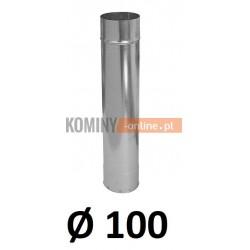 Rura ocynkowana 100 / 0,5 m