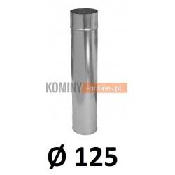 Rura ocynkowana 125 / 0,5 m