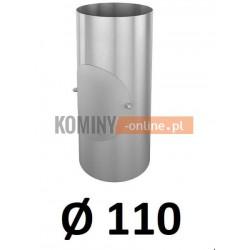 Rura z rewizją 110 mm / 0,33 [m] OCYNK