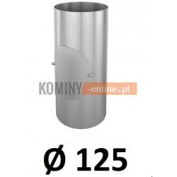 Rura z rewizją 125 mm / 0,33 [m] OCYNK