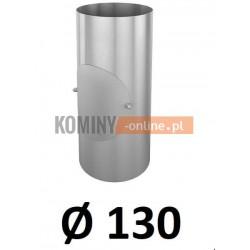 Rura z rewizją 130 mm / 0,33 [m] OCYNK