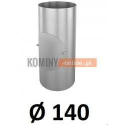 Rura z rewizją 140 mm / 0,33 [m] OCYNK