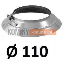 Kołnierz przeciwdeszczowy 110 ocynkowany