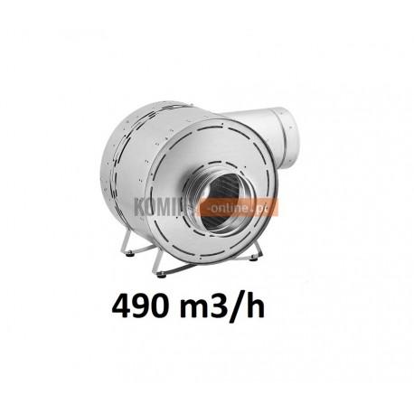 Turbina kominkowa energooszczędna 490 m3/h