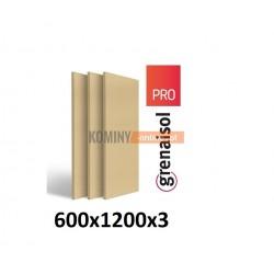 Płyta kominkowa wermikulitowa 120x60 cm