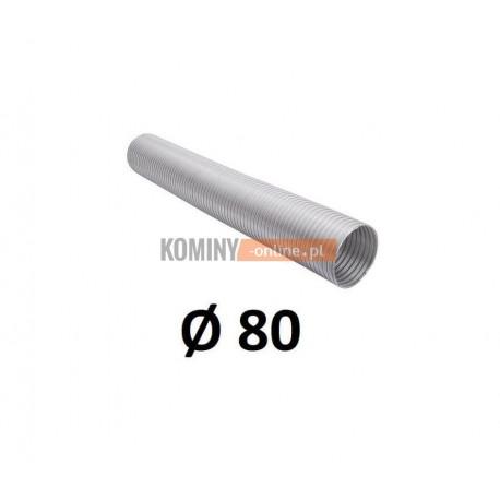 Rura aluminiowa SPIRO 80 mm