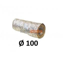 Rura aluminiowa 100 mm z izolacją termiczną 5 mb