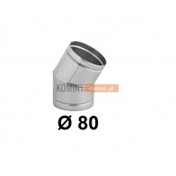 Kolano nastawne 80 mm / ∡ 0-30°
