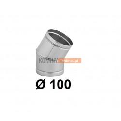 Kolano nastawne 100 mm / ∡ 0-30°