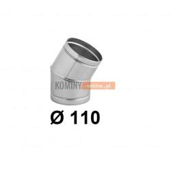 Kolano nastawne 110 mm / ∡ 0-30°