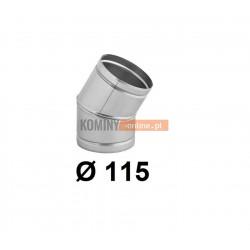 Kolano nastawne 115 mm / ∡ 0-30°
