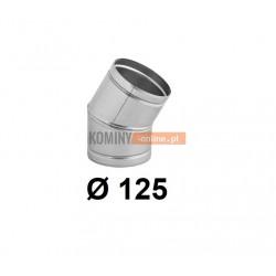 Kolano nastawne 125 mm / ∡ 0-30°