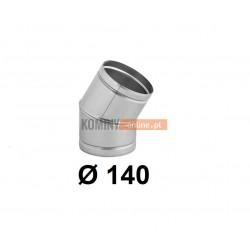 Kolano nastawne 140 mm / ∡ 0-30°