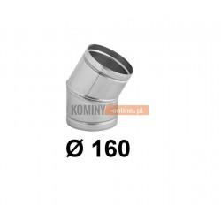 Kolano nastawne 160 mm / ∡ 0-30°