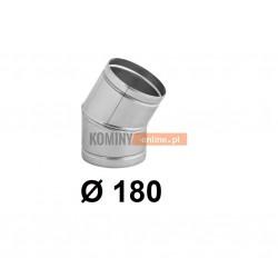 Kolano nastawne 180 mm / ∡ 0-30°
