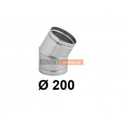 Kolano nastawne 200 mm / ∡ 0-30°