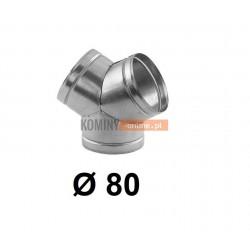 Trójnik portki 80 mm