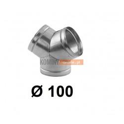 Trójnik portki 100 mm