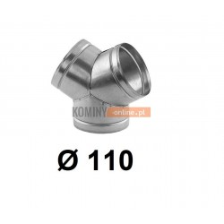 Trójnik portki 110 mm