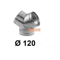 Trójnik portki 120 mm