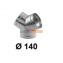 Trójnik portki 140 mm