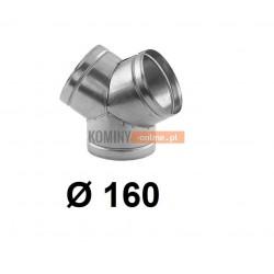Trójnik portki 160 mm