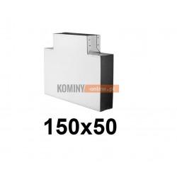 Trójnik 150x50 mm / ∡ 90°