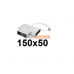Trójnik 150x50 mm ze zwrotnicą i cięgnem