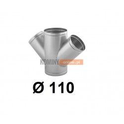 Czwórnik okrągły 110 mm / ∡ 45°