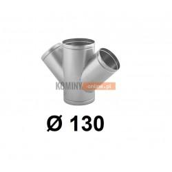 Czwórnik okrągły 130 mm / ∡ 45°