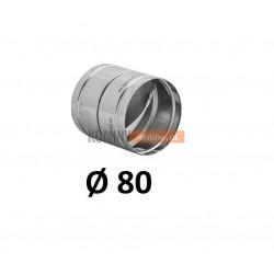 Metalowy zawór zwrotny 80 mm