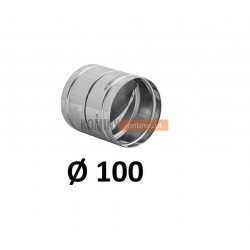 Metalowy zawór zwrotny 100 mm