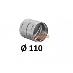 Metalowy zawór zwrotny 110 mm