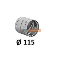 Metalowy zawór zwrotny 115 mm
