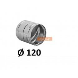 Metalowy zawór zwrotny 120 mm